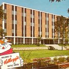 Kellogg Company Building with Tony the Tiger in Battle Creek  Michigan MI, Chrome Postcard - 2492