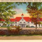Tabor Academy in Marion Massachusetts MA, Linen Postcard - 2499