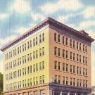 Dime Trust Safe Deposit Company in Shamokin Pennsylvania PA, Linen Postcard - 2575