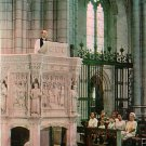 Cantebury Pulpit at Washington Cathedral in District of Columbia DC, Postcard - 2603