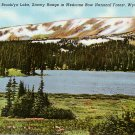 Brooklyn Lake in Medicine Bow National Forest, Wyoming WY, 1942 Linen Postcard - 2634