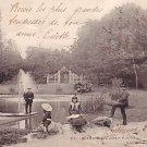 Le Jardin Public Park in Bethune France 1906 Vintage Postcard - 2673