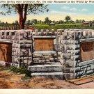 Bryan Station Spring at Lexington Kentucky KY, Curt Teich Linen Postcard - 2762