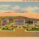 Civic Center in Duluth Minnesota MN, 1938 Curt Teich Linen Postcard - 2858