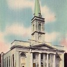 The Old Cathedral in St. Louis Missouri MO, Mid Century Linen Postcard - 2861