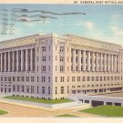 General Post Office in Kansas City Missouri MO, 1934 Curt Teich Postcard - 2879