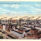 Postum Cereal Plant at Battle Creek Michigan MI, Vintage Postcard - 2904