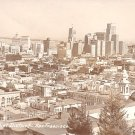 1948 View of the Financial District in San Francisco California CA, Real Photo Post Card RPPC - 2929