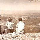 Overlooking Stowe Valley in Vermont VT, Real Photo Post Card RPPC - 2939