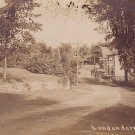 1909 View of Road Leading to Londonderry Vermont VT, Real Photo Post Card RPPC - 2957