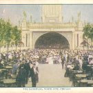 The Bandstand at White City Amusement Park in Chicago Illinois IL, Vintage Postcard - 2971