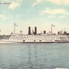 C.W. Morse Steamer 1912 Transportation Vintage Postcard - 2978