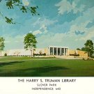 Harry S Truman Library at Independence Missouri MO, Chrome Postcard - 3027