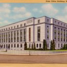State Office Building in Hartford Connecticut CT, 1935 Curt Teich Linen Postcard - 3102