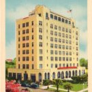 Hotel Dixie Sherman in Panama City Florida FL, Linen Postcard - 3130