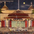 Band Shell at Night in Bayfront Park Miami Florida FL, 1943 Linen Postcard - 3151