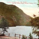 Lower Ausable Lake, Mt. Colvin and Indian Head at Keene Valley New York NY - Vintage Postcard -3238