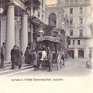 Schweizerhof Hotel in Lucerne Switzerland, Vintage Postcard - 3244