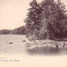 Laurel Lake at Lee Massachusetts MA, 1905 Rotograph Co. Vintage Postcard - 3265
