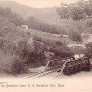 Berkshire St. R.R. Tracks at Berkshire Hills Massachusetts MA, 1905 Rotograph Co. Postcard - 3271