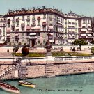 Hotel Beau Rivage at Geneva Switzerland, Vintage Postcard - 3284