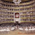 Ballerinas on Stage at Theatre Teatro Alla Scala in Milano Italy, Vintage Postcard - 3285