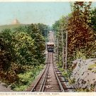 Mt. Tom Railway and Summit House in Massachusetts MA, Detroit Publishing Postcard - 3297