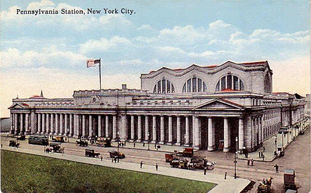 Pennsylvania Station in New York City NY, Vintage Postcard - 3333