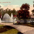 In Riverside Park at Jacksonville Florida FL, Vintage Postcard - 3341
