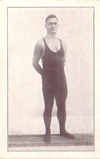 Ed Harrison Champion Deep Sea Diver of Catalina California CA, Vintage Postcard - 3352