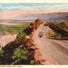 Sky Line Drive near Canon City Colorado CO, 1921 Curt Teich Vintage Postcard - 3409