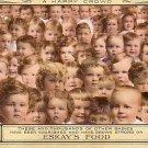 Thousands of Babies Fed Eskay's Food, Advertising Vintage Postcard - 3429