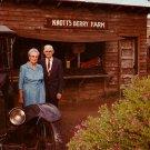 Walter and Cordelia Knott of Knott's Berry Farm Ghost Town, California CA, Chrome Postcard - 3495