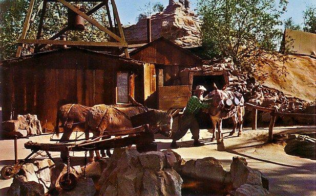 Roy the Old Prospector at Knott's Berry Farm Ghost Town California CA, Chrome Postcard - 3499