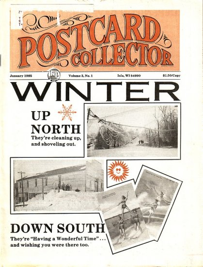 January 1985 Postcard Collector Magazine Krause Publications, Inc.