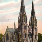 The Church of the Immaculate Conception in St. Joseph Missouri MO, Vintage Postcard - 3523
