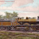 London-Brighton Express Engine, Vintage Postcard - 3544