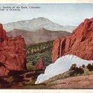 Gateway of the Garden of Gods Park in Colorado CO, Vintage Postcard - 3550
