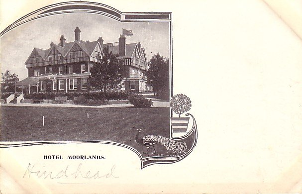 Hotel Moorlands, United Kingdom Vintage Postcard - 3583