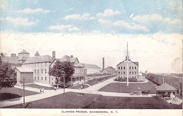 Clinton Prison at Dannemora New York NY, Vintage Postcard - 3632