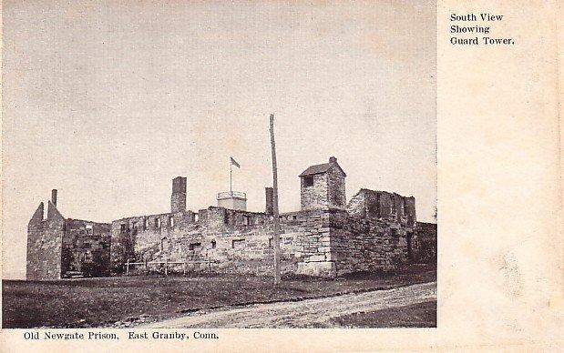 Old Newgate Prison at East Granby Connecticut CT, Vintage Postcard - 3645