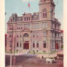 The Post Office at Hannibal Missouri MO, 1909 Vintage Postcard - 3652