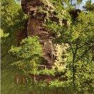Deer Leap in Roaring River State Park near Cassville Missouri MO, Linen Postcard - 3668