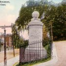 Charter Oak Monument at Hartford Connecticut Ct, Vintage Postcard - 3685
