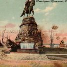 Washington Monument in Philadelphia Pennsylvania PA, Vintage Postcard - 3748