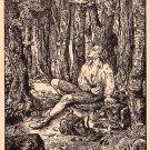 Walderauschen, Michaelis Artist Signed Vintage Postcard - 3786
