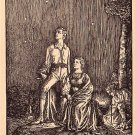 Betrachtung, Michaelis Artist Signed Vintage Postcard - 3787