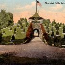 Mount at Belle Isle in Detroit Michigan MI, 1911 Vintage Postcard - 3851