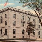 U.S. Post Office and Federal Court Building in Green Bay Wisconsin WI, 1911 Vintage Postcard - 3853