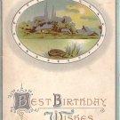 Best Birthday Wishes 1911 Vintage Postcard - 3998